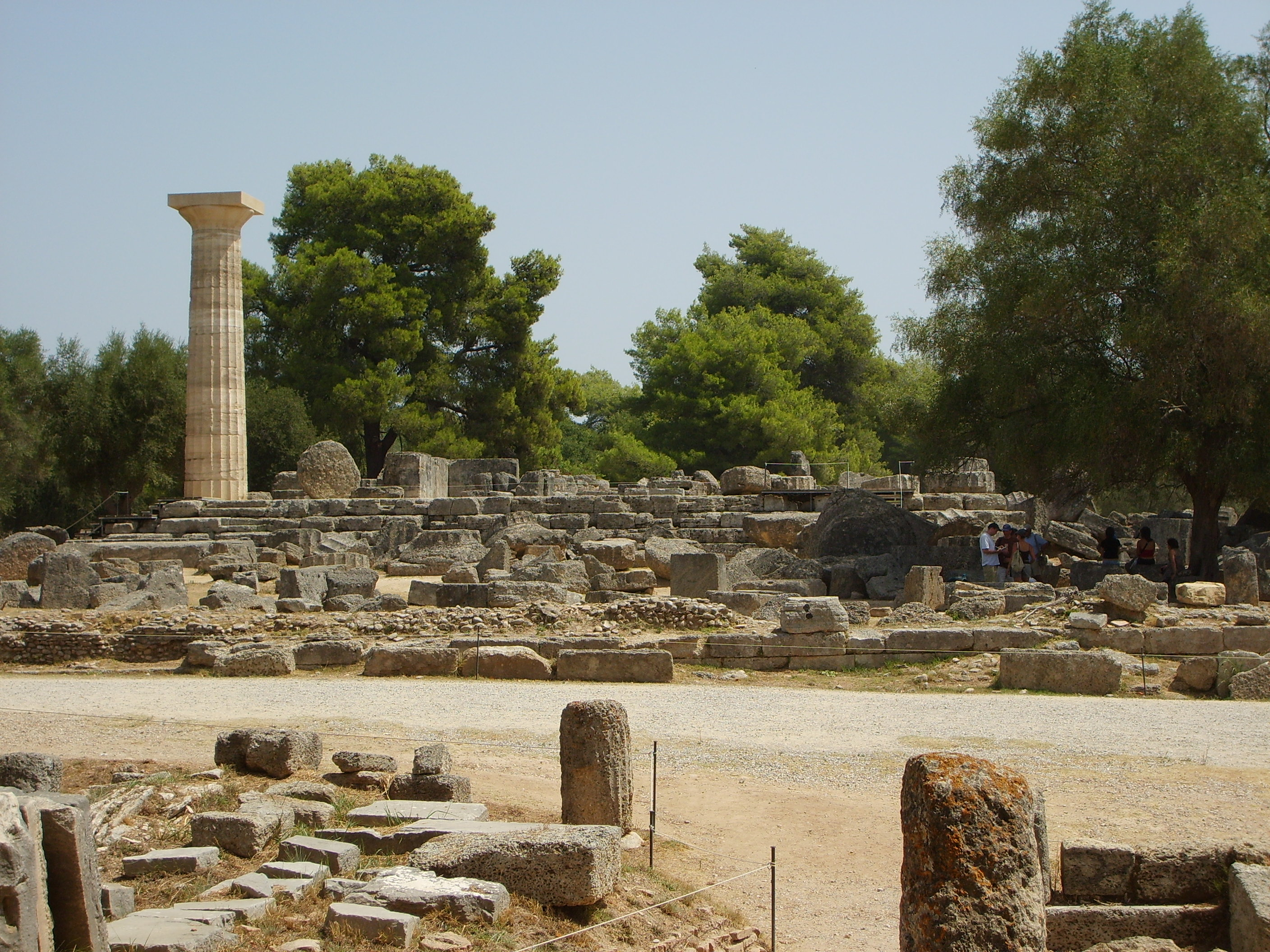 archaeological site of olympia gtp